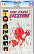 Bronze Age (1970-1979):Cartoon Character, Hot Stuff Sizzlers #59 File Copy (Harvey, 1974) CGC NM+ 9.6Off-white to white pages....