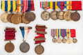 Militaria:Insignia, Group of Early Navy Medals...