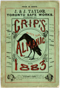 Books:Americana & American History, [Almanacs] Grip's Comic Almanac for 1883. Toronto: Grip Printingand Publishing Co., [1883]. Octavo. Illustrated. Publisher'...