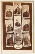 Photography:CDVs, [Abraham Lincoln]. Carte de Visite: President and Cabinet....