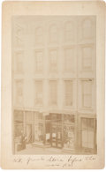 Photography:Cabinet Photos, [Ulysses S. Grant]. Photograph: Grant's Store Before the War....