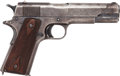 Handguns:Semiautomatic Pistol, U.S. Colt Model 1911 Semi-Automatic Pistol Manufactured 1917....