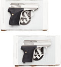 Handguns:Semiautomatic Pistol, Lot of Two Boxed Seecamp LWS 32 Semi-Automatic Pistols.... (Total: 2 Items)