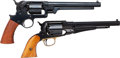 Handguns:Single Action Revolver, Lot of Two Reproduction Civil War Percussion Revolvers.... (Total:2 Items)