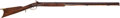 Long Guns:Muzzle loading, Half-Stock Percussion Rifle by Tryon of Philadelphia....