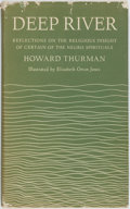 Books:Religion & Theology, Howard Thurman. Deep River: Reflections on the Religious Insight of Certain of the Negro Spirituals. New York: Harpe...
