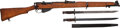 Long Guns:Bolt Action, British B. S. A. No. 1 Mark III Enfield Bolt Action Rifle....