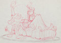 Animation Art:Production Drawing, Groovie Goolies Production Drawing Animation Art (Filmation, c.1970)....