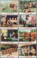 "Movie Posters:War, The Dirty Dozen (MGM, 1967). Lobby Card Set of 8 (11"" X 14"") &Pressbooks (2) (Various Pages, 12.25"" X 17""). War.. ... (Total: 10Items)"