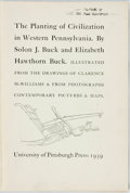 Books:Americana & American History, Solon J. Buck and Elizabeth Hawthorn Buck. The Planting ofCivilization in Western Pennsylvania. University of Pitts...