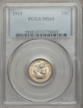 Barber Dimes: , 1915 10C MS65 PCGS. PCGS Population (47/12). NGC Census: (41/8).Mintage: 5,620,450. Numismedia Wsl. Price for problem free...