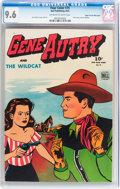 Golden Age (1938-1955):Western, Four Color #75 Gene Autry - Mile High pedigree (Dell, 1945) CGC NM+9.6 Off-white to white pages....