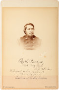 Photography:Cabinet Photos, Ely S. Parker Cabinet Card....
