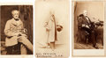 Photography:Cabinet Photos, Confederate Admiral Franklin Buchanan Group of 3 Cartes deVisite.... (Total: 3 )