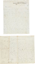 Militaria:Ephemera, Berdan Sharpshooters: William B. Greene Letter....
