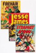 Golden Age (1938-1955):Western, Golden to Silver Age Western Short Box Group (Various Publishers,1940s-60s) Condition: Average VG....