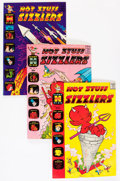 Silver Age (1956-1969):Humor, Hot Stuff Sizzlers Plus File Copy Short Box Group (Harvey, 1961-74)....