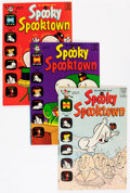 Bronze Age (1970-1979):Cartoon Character, Spooky Spooktown Long Box Group (Harvey, 1969-73) Condition:Average VF/NM....