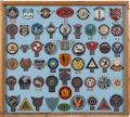 Transportation:Automobilia, Collection Of 53 British Automobile And Motorcycle Club Badges. ...