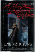 Books:Horror & Supernatural, Laurie R. King. A Monstrous Regiment of Women. New York: St.Martin's, [1995]. First edition, first printing. Publis...