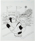 Animation Art:Production Drawing, Goofy Max and Pete Book Illustration Original Art Group (WaltDisney, 1994).... (Total: 3 Original Art)