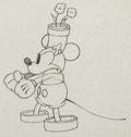 Animation Art:Production Drawing, The Wayward Canary Mickey Mouse Production Drawing AnimationArt (Walt Disney, 1932)....