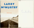 Books:Travels & Voyages, Larry McMurtry. SIGNED. Roads: Driving America's Great Highways. New York: Simon and Schuster, [2000]. First edition...