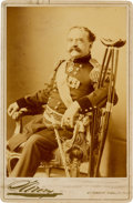 Photography:Cabinet Photos, Union Major General Daniel Edgar Sickles: Inscribed Albumen CabinetCard....