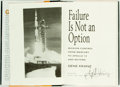 Books:Biography & Memoir, Gene Kranz. SIGNED. Failure is Not an Option: Mission Controlfrom Mercury to Apollo Thirteen and Beyond. New York: ...