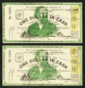 Obsoletes By State:Ohio, Fostoria, OH- Fostoria Industrial Corporation $1 Jan. 1, 1936 TwoExamples. ... (Total: 2 notes)