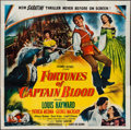 """Movie Posters:Swashbuckler, Fortunes of Captain Blood (Columbia, 1950). Six Sheet (79"""" X 80""""). Swashbuckler.. ..."""
