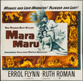 "Movie Posters:Adventure, Mara Maru (Warner Brothers, 1952). Six Sheet (79"" X 80"").Adventure.. ..."