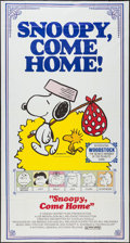 """Movie Posters:Animation, Snoopy, Come Home! (National General, 1972). Three Sheet (41"""" X77""""). Animation.. ..."""