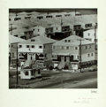 Books:Prints & Leaves, Herbert Loebel. SIGNED. Oversize Photo of US Housing Projects.Circa 1970s. Signed by the photographer in pencil. Mounte...