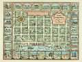 Books:Maps & Atlases, [Maps]. Pictorial Road Map of Georgetown and Nearby Rice Plantations. Map charmingly depicts downtown buildings as well as r...