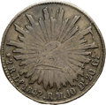 Mexico, Mexico: Republic 2 Reales 1842/32 Do-RM,...