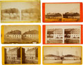 Photography:Stereo Cards, [Confederate Prisons]. Six Stereoviews of Libby Prison and Castle Thunder.... (Total: 6 )