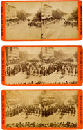 Photography:Stereo Cards, [The Grand Review]. Three Stereoviews.... (Total: 3 )