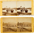 Photography:Stereo Cards, Two Alexander Gardner Stereoviews, circa 1862.... (Total: 2 )