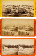 Photography:Stereo Cards, Fort Sedgwick: Three Stereoviews.... (Total: 3 )