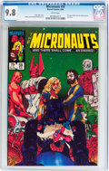 Modern Age (1980-Present):Science Fiction, Micronauts #59 (Marvel, 1984) CGC NM/MT 9.8 White pages....