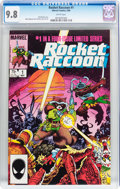 Modern Age (1980-Present):Humor, Rocket Raccoon #1 (Marvel, 1985) CGC NM/MT 9.8 White pages....