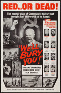"Movie Posters:Documentary, We'll Bury You (Columbia, 1962). One Sheet (27"" X 41"") and Lobby Cards (7) (11"" X 14""). Documentary.. ... (Total: 8 Items)"