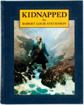 Books:Literature Pre-1900, Robert Louis Stevenson. Kidnapped. Being the Memoirs ofthe Adventures of David Balfour in the Year 1751. New Yo...