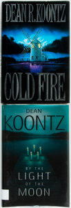 Books:Horror & Supernatural, Dean Koontz. SIGNED. Pair of First Edition Books. Includes: ColdFire. New York: Putnam, [1991]. [and:] By the Light o...(Total: 2 Items)