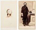 Photography:CDVs, General Philip St. George Cooke: Two Cartes de Visite.... (Total: 2 )