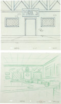 Animation Art:Production Drawing, The Simpsons Group of 5 Production Drawings (Fox,1990s-2000s).... (Total: 5 Original Art)