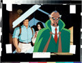 Animation Art:Production Cel, Batman: The Animated Series Batman Talia and Ra's Al GhulProduction Cel (Warner Brothers, 1994).... (Total: 2 Items)
