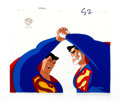Animation Art:Production Cel, Superman: The Animated Series Superman and BizarroProduction Cel (Warner Brothers, 1997).... (Total: 2 Items)