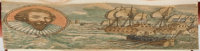 [Fore-Edge Painting]. Christian Isobel Johnstone. Lives and Voyages of Drake, Cavendish, and Dampier: Including